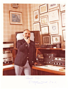 King Hussein the Hashemite Ham Radio Operator