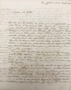 The Prussian-Born, American Revolutionary Army Officer Writes about Thomas Jefferson, George Washington and the French Revolution