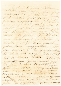 Rare Art-Related Autograph Letter by the Pioneering French Painter