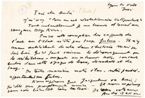 38493Surrealist André Masson Endorses Breton and Rivera's Manifesto for an Independent Revolutionary Art