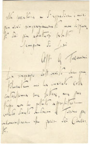 38448The Earliest Toscanini Letter to be Offered at Auction in at Least 50 Years