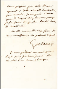 38558Delacroix, France's Leading French Romantic Painter, Writes to Franz Liszt's Mistress