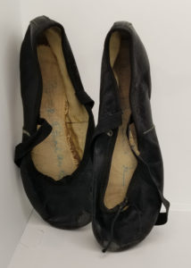 "Signed Balanchine Ballet Slippers Danced in ""The Nutcracker"""