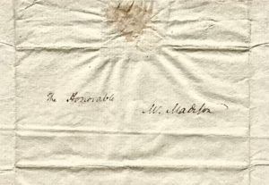 Hamilton to Madison Mentioning Jefferson: The only Letter Between the Two Ever to Appear at Auction, and Likely the Only One in Private Hands