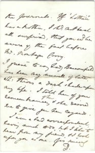 """38834Disraeli Dispels Rumors about a New Novel: """"I contemplate publishing nothing at present and were I writing anything, it could only be known to myself…I make it a rule never to breathe a word on such matters…"""""""