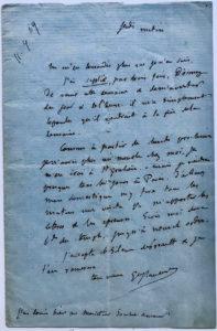 38852ALS Mentioning his Close Friend, the Recently Deceased Poet Louis Bouilhet