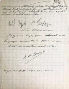 Feminist Author Simone de Beauvoir Autograph Manuscript and Letters