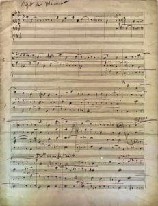 """Ravel Autograph Musical Ms. on a """"Subject"""" by Massenet & a Minor Thought on Beethoven"""